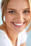 Beauty Portrait Of Woman With Beautiful Smile Fresh Face Smiling Royalty Free Stock Image