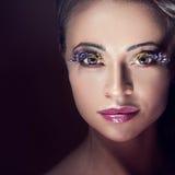 Beauty portrait of woman. Royalty Free Stock Photo