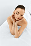Beauty Portrait. Woman Face. Spa Body, Skin Care Concept. Royalty Free Stock Photos