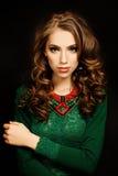 Beauty Portrait of Woman Fashion Model Stock Photo