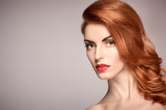 Beauty portrait woman, Natural Makeup, Skincare Royalty Free Stock Images