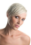 Beauty portrait of woman in thirties stock photos