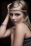 Beauty. Portrait of a young female teenager Royalty Free Stock Photo