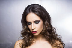 Beauty portrait of a young and gorgeous woman Royalty Free Stock Image