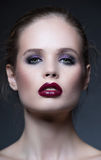 Beauty portrait of young woman royalty free stock image