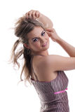Beauty portrait of young woman Royalty Free Stock Photo