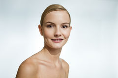 Beauty Portrait of a Young Woman. Royalty Free Stock Image
