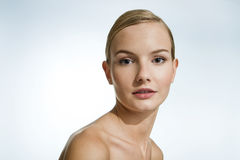 Beauty Portrait of a Young Woman. Stock Photography