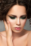 Beauty portrait of young woman Royalty Free Stock Photography