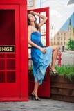Beauty posing. Royalty Free Stock Photos