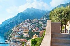 The beauty of Positano Royalty Free Stock Photo