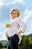 Beauty pregnance Stock Photo