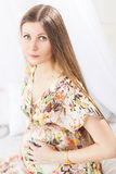 Beauty Pregnant Woman Royalty Free Stock Photography