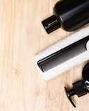 Beauty products and accessories for men Stock Image