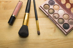 Beauty products. Make up products. beauty products Royalty Free Stock Images