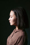 Beauty proud asian girl Stock Photo