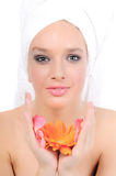 Beauty and purity Stock Images