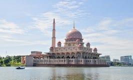 Beauty Of Putrajaya Mosque Stock Image