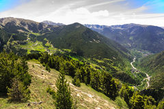 The beauty of the Pyrenees Stock Images