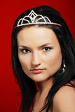 Beauty queen Stock Image