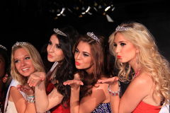 Beauty queen finalists Royalty Free Stock Photography