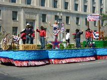 Beauty Queen Float Royalty Free Stock Photography