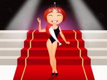 Beauty queen Stock Images