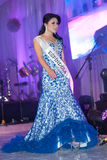 Beauty Queen on stage Royalty Free Stock Photography