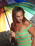 Beauty in the Rain Stock Photos