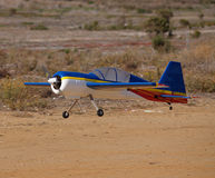 Beauty Rc plane landing Stock Photos