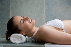 Beauty and relax Stock Photo
