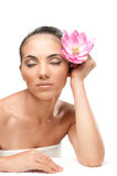 Beauty relax at spa royalty free stock image