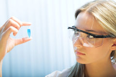 Beauty researcher Stock Photography