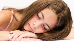 Beauty Rest Royalty Free Stock Photos