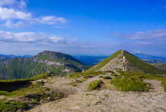 Beauty of Romanian Mountains Royalty Free Stock Images