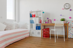 Beauty room for schoolgirl Royalty Free Stock Photo