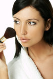 Beauty routines stock photography
