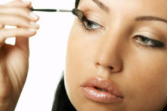 Beauty routines stock images