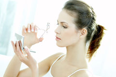 Beauty routines 2 Stock Image