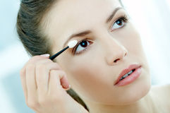 Beauty routines 2 Stock Photography