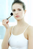 Beauty routines 2 Stock Images