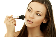 Beauty routines Stock Photo