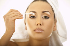Beauty routines Royalty Free Stock Images