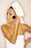 Beauty routines V Stock Image