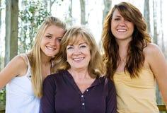 Beauty Runs in Family Stock Image
