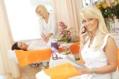 Beauty-Salon stock photography