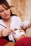 Beauty salon stock image