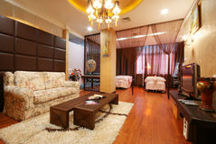 Beauty salon. China luxurious decoration of the beauty salon Stock Photos