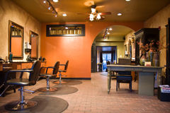 Beauty Salon. Interior of a Beauty Salon Royalty Free Stock Image
