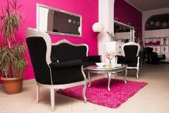 Beauty salon beautiful created Stock Image